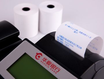 FOCUS Brand Thermal Paper Small Roll/ Cash Register Roll—Blue Image