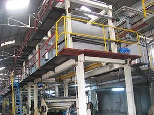 FOCUS Brand 1760-300 carbonless paper coating line